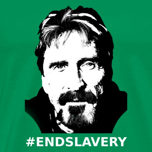 End Slavery - Men's Premium T-Shirt