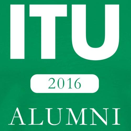 ITU Alumni 2016 - White Logo - Men's Premium T-Shirt