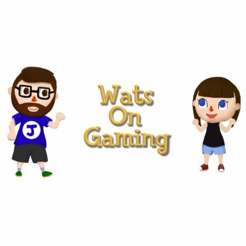 Wats_on_Crossing - Men's Premium T-Shirt