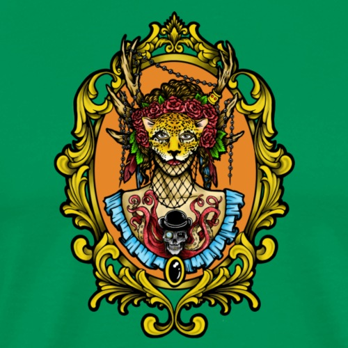 Jaguar Mask - Men's Premium T-Shirt