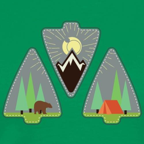 Arrowhead to Camping - Men's Premium T-Shirt
