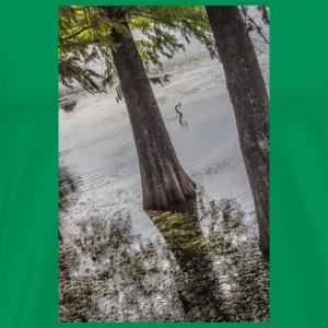 LAKE BIRD - Men's Premium T-Shirt