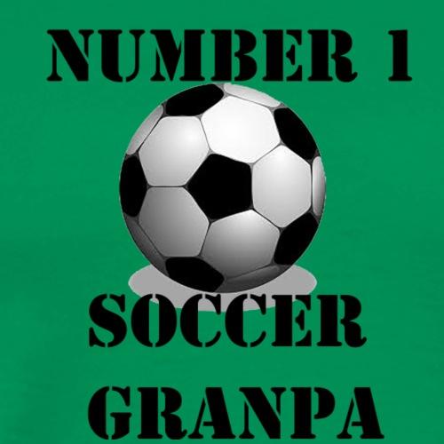 Soccer Grandpa - Men's Premium T-Shirt
