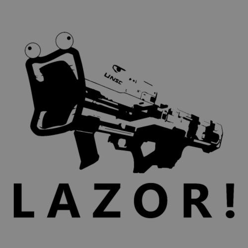 Spartan LAZOR! [Fubuki990] - Men's Premium T-Shirt