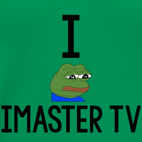 I pepe iMaster TV - Men's Premium T-Shirt