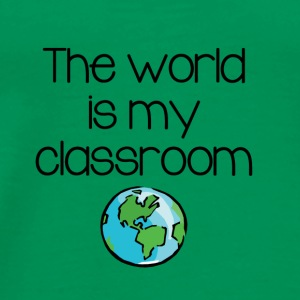 World Classroom - Men's Premium T-Shirt