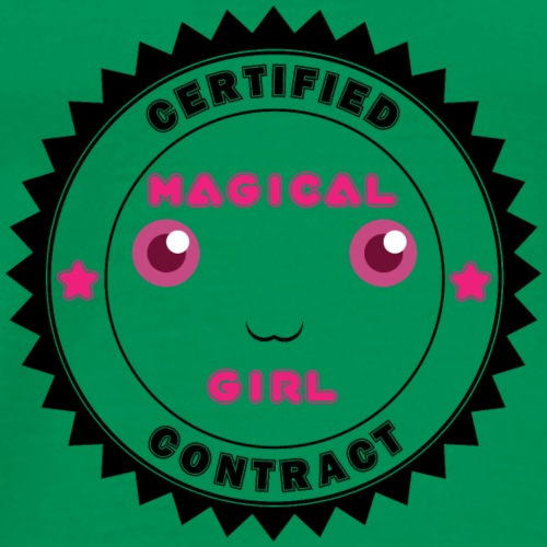 Magical Girl Certified Contract - Men's Premium T-Shirt