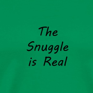The-Snuggle-is-Real - Men's Premium T-Shirt