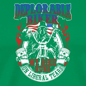 Deplorable Biker Tee Shirts - Men's Premium T-Shirt