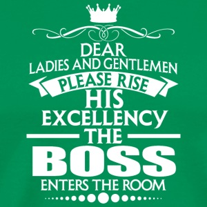 BOSS - EXCELLENCY - Men's Premium T-Shirt