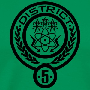 district 5 - Men's Premium T-Shirt