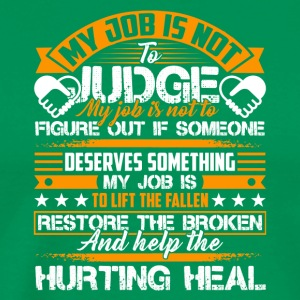 Social Worker Help The Hurting Heal Shirt - Men's Premium T-Shirt