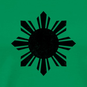 Black Flag Philippines Sun - Men's Premium T-Shirt