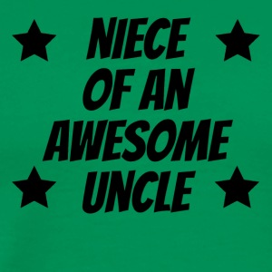 Niece Of An Awesome Uncle - Men's Premium T-Shirt