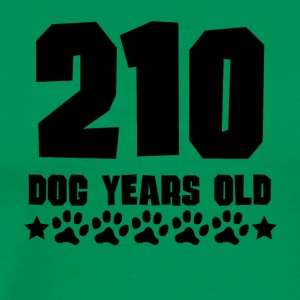 210 Dog Years Old Funny 30th Birthday - Men's Premium T-Shirt