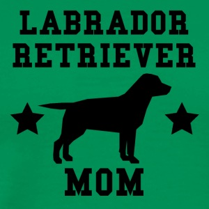 Labrador Retriever Mom - Men's Premium T-Shirt