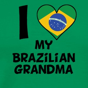 I Heart My Brazilian Grandma - Men's Premium T-Shirt