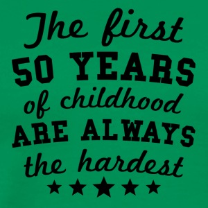 50 Years Of Childhood 50th Birthday - Men's Premium T-Shirt