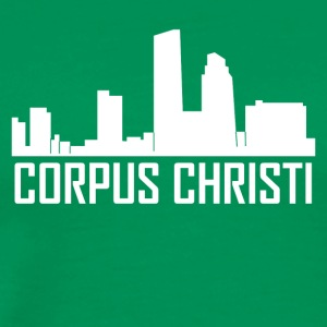 Corpus Christi Texas City Skyline - Men's Premium T-Shirt