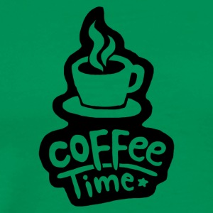Coffee time - Men's Premium T-Shirt