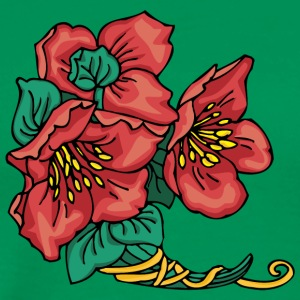 red_flower - Men's Premium T-Shirt