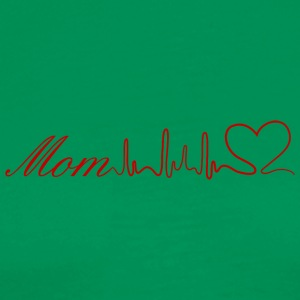 Mom heart - Men's Premium T-Shirt