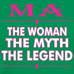 Ma The Woman The Myth The Legend - Men's Premium T-Shirt