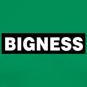 BIGNESS Black - Men's Premium T-Shirt