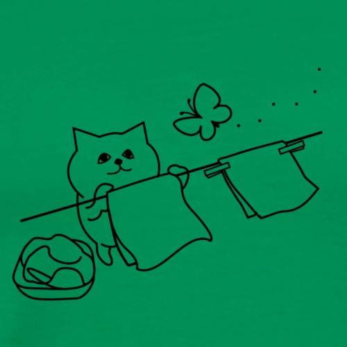 Wash Cat - Men's Premium T-Shirt