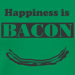 HappinessIsBacon - Men's Premium T-Shirt