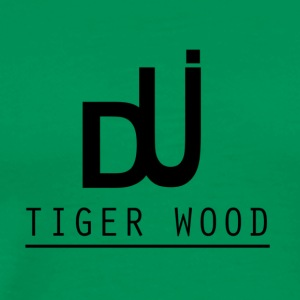 tiger wood - Men's Premium T-Shirt