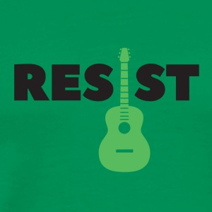 resist guitar - Men's Premium T-Shirt