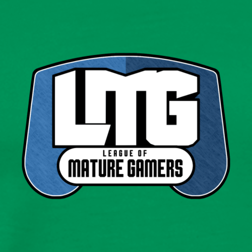 LMG Block Logo Final - Men's Premium T-Shirt