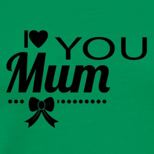 i_love_you_mom_black - Men's Premium T-Shirt