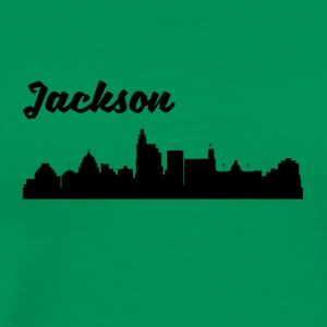 Jackson MS Skyline - Men's Premium T-Shirt