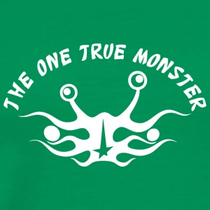 the one true monster Netherlands white - Men's Premium T-Shirt