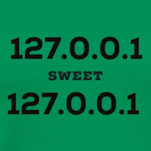 Home Sweet Home. 127.0.0.1 - Men's Premium T-Shirt