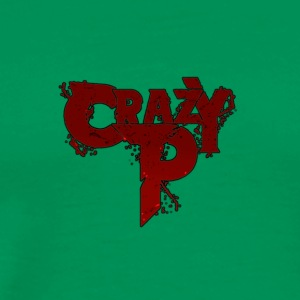 Crazy P Logo Zombie Red - Men's Premium T-Shirt