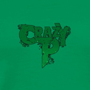 Crazy P Logo Zombie Green - Men's Premium T-Shirt