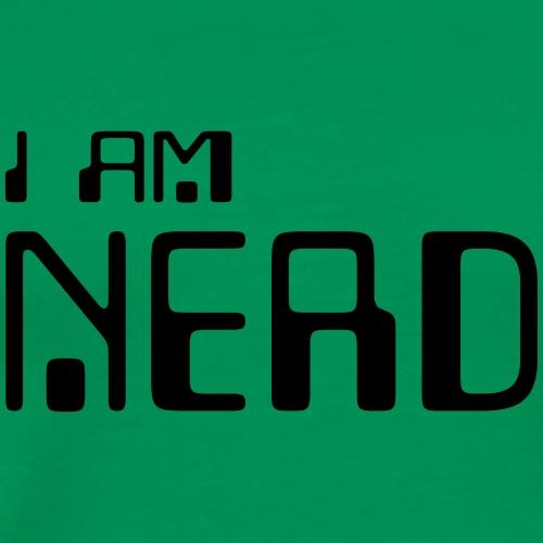 I am NERD - Men's Premium T-Shirt