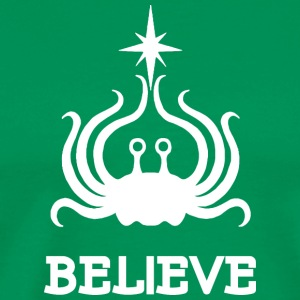 BELIEVE WHITE - Men's Premium T-Shirt
