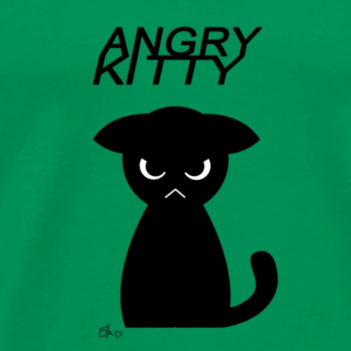 Angry Kitty - Men's Premium T-Shirt