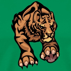 muscular_big_tiger - Men's Premium T-Shirt