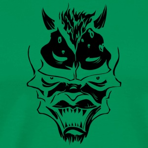 demon face - Men's Premium T-Shirt