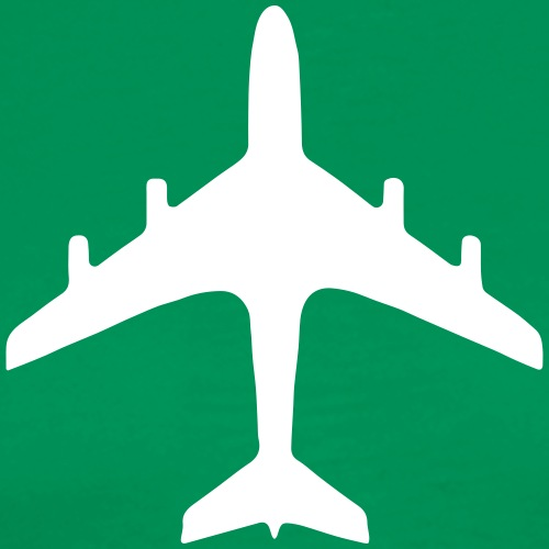 traffic signs - airport - Men's Premium T-Shirt