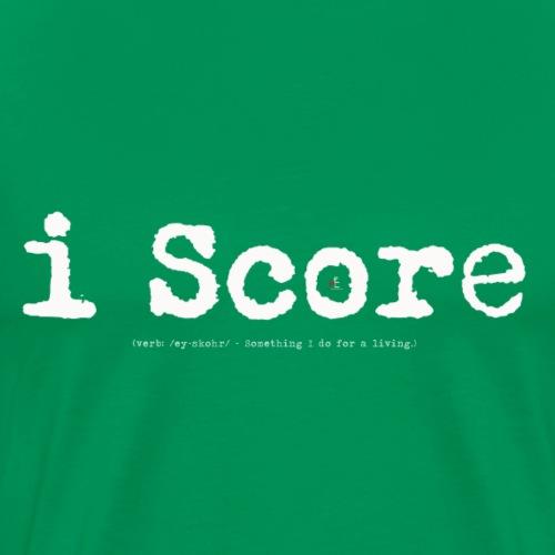 i Score - Men's Premium T-Shirt