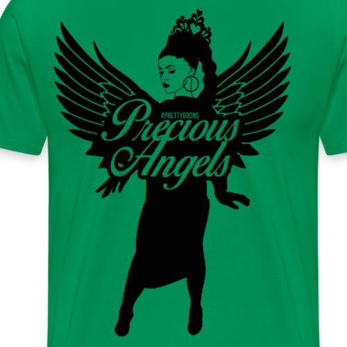 Precious Angels Logo - Pretty Goons - Men's Premium T-Shirt