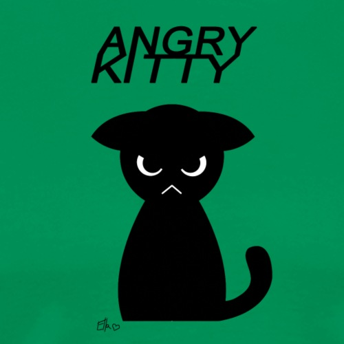Angry Kitty - Men's Premium T-Shirt
