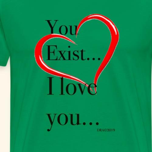 Exist - Men's Premium T-Shirt