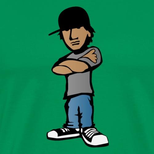 Kid with Attitude - Men's Premium T-Shirt